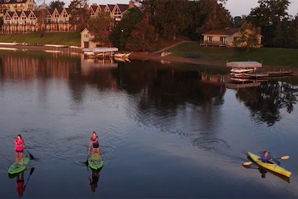 Maddens Resort on Gull Lake
